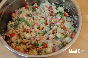 FRESH QUINOA SALAD