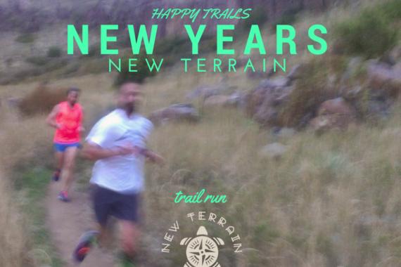 Happy Trails Run Club New Years at New Terrain